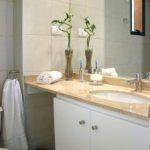 Kwiecista łazienka
