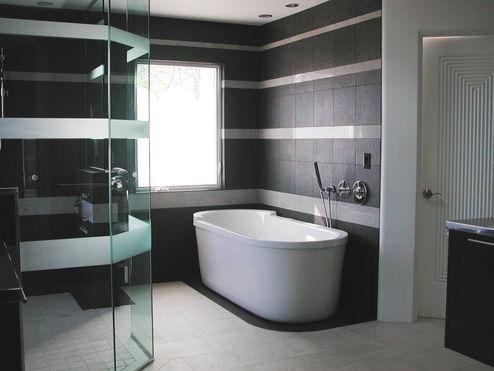 Łazienka dla gości!