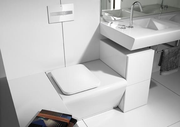 Meble łazienkowe białe
