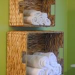 Jak w 5 minut stworzyć ciekawy pojemnik na ręczniki w łazience?