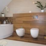 Mała łazienka w stylu skandynawskim